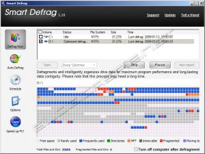 IObit Smart Defrag 1.10