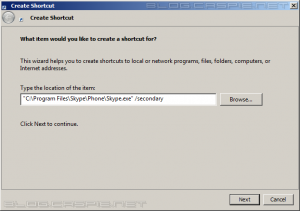 Multiple Skype Step 2