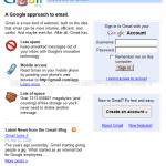 Gmail чукна 5 години