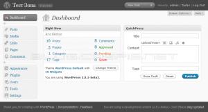 WordPress 2.8.1 Beta 2