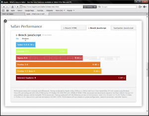 Safari 4 Performance