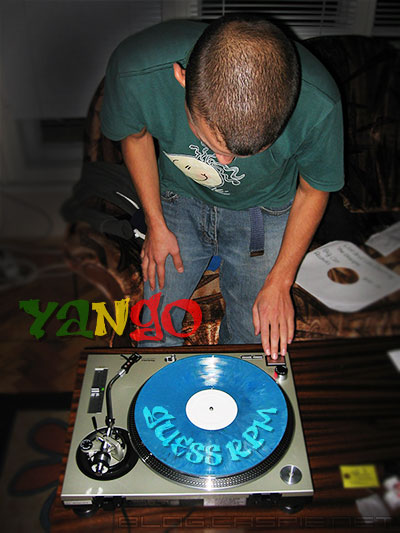 Yango with the new Technics SL-1200MK2