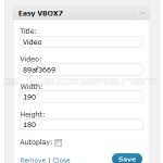 Easy VBOX7 1.2