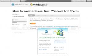 Move to WordPress.com - Step 1