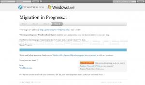 Move to WordPress.com - Step 4