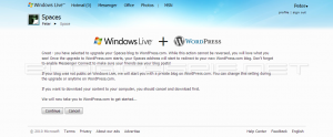 Windows Live and WordPress.com - Connect