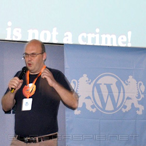 Богомил Шопов @ WordCamp Bulgaria 2010