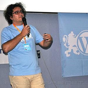 Cristian China Birta @ WordCamp Bulgaria 2010