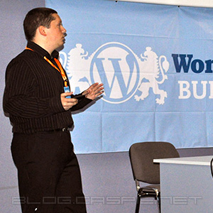 Константин Данков @ WordCamp Bulgaria 2010