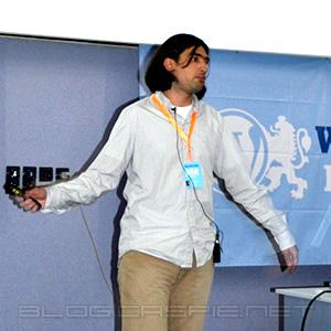 Николай Бачийски @ WordCamp Bulgaria 2010