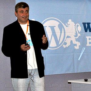Огнян Младенов @ WordCamp Bulgaria 2010
