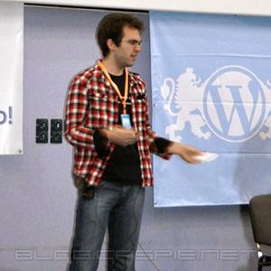 Стефан Кънев @ WordCamp Bulgaria 2010