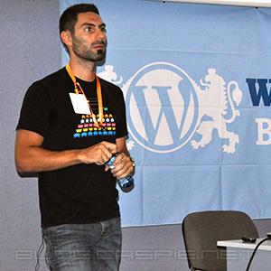 Stefanos Kofopoulos @ WordCamp Bulgaria 2010