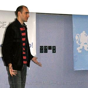 Веселин Николов @ WordCamp Bulgaria 2010