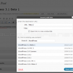 WordPress 3.1 Beta 1