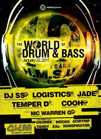 Logistics at World of Drum and Bass