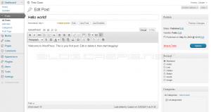 WordPress 3.2 Beta 1 - TinyMCE Buttons