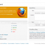 WordPress 3.2 RC 1