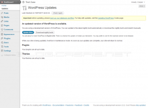 WordPress 3.2 - Update