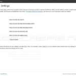 WordPress 3.3 Beta 1 - New Postname Permalinks Option