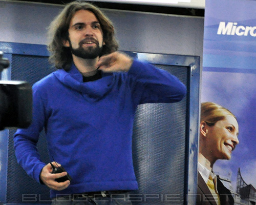 Stefan Kanev at WordCamp Bulgaria 2011