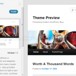 WordPress 3.4 - Theme Previewer