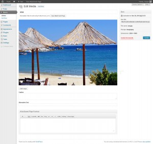 WordPress 3.5 - Attachment UI