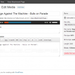 WordPress 3.6 Media Preview