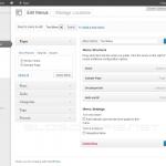 WordPress 3.6 Menus UI