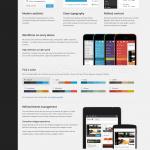 WordPress 3.8 Parker