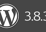 WordPress 3.8.3