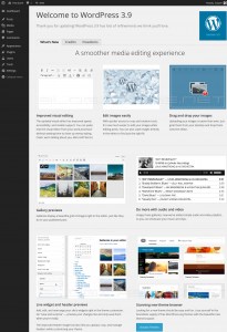 WordPress 3.9 - Smith