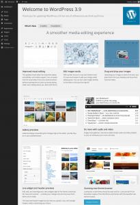 WordPress 3.9 - Smith