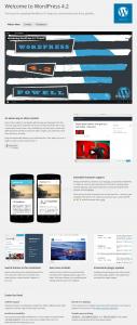 WordPress 4.2 - About