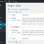 WordPress 4.2 - Inline Updates