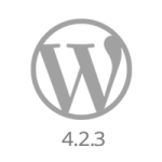 WordPress 4.2.3